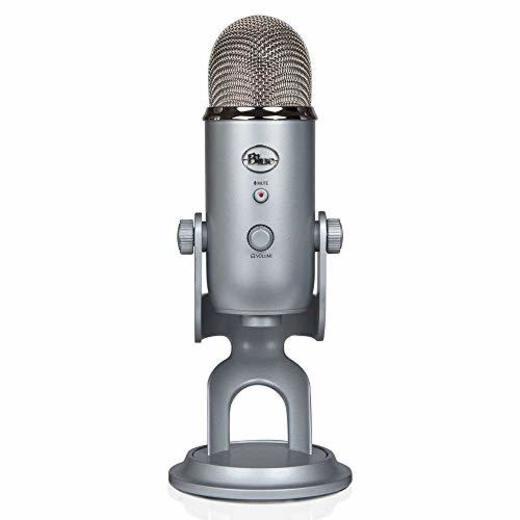 Blue Microphones Yeti - Micrófono para ordenador