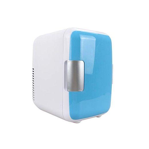 Leobtain Mini Fridge 4 Liters Portable Mini Refrigerator Cooler and Warmer with