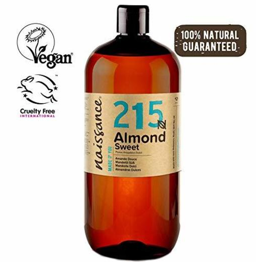 Naissance Aceite de Almendras Dulces n. º 215-1 Litro - 100% natural