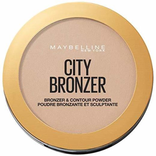 Maybelline New York City Bronzer Polvos Bronceadores Mate para Pieles Medias