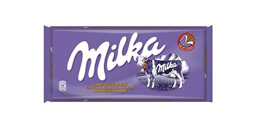 Milka Tableta de Chocolate con Leche