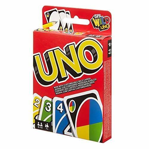 Mattel Games UNO classic, juego de cartas