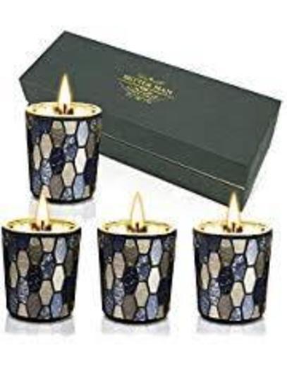 YINUO - Juego de velas aromáticas ligeras para ... - Amazon.com