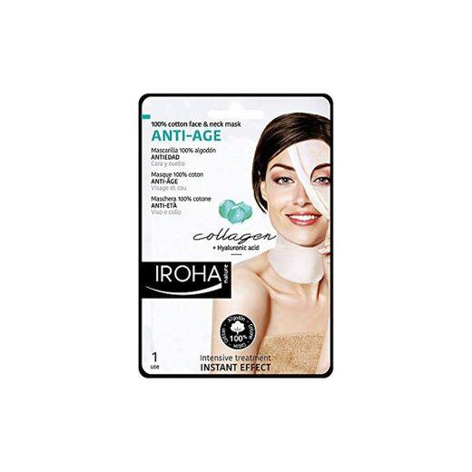 Iroha Face & Neck Collagen Antiage Mascarilla Facial