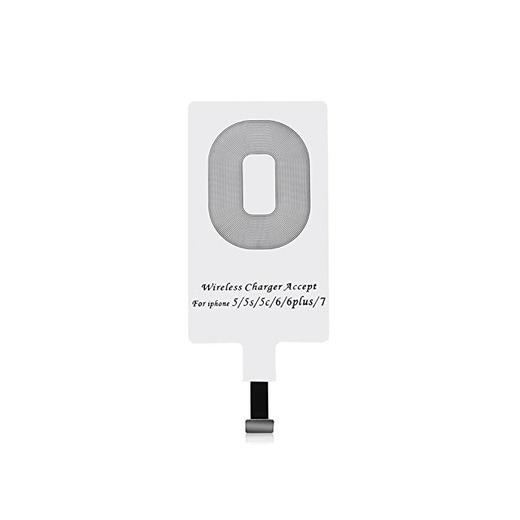 CHOETECH iPhone Qi Receptor, Receptor de Carga Inalámbrico/Ultra Fino Wireless Receptor/Qi Receptor