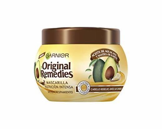 Garnier Original Remedies Aceite de aguacate y manteca de karité Mascarilla capilar
