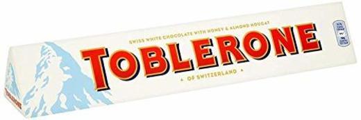 Toblerone White Chocolate Bar 360g Paquete de 5