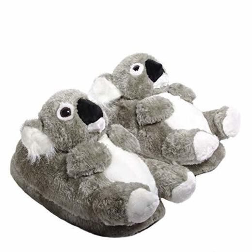 Sleeper'z - Koala - Zapatillas de casa Animales Originales y Divertidas -