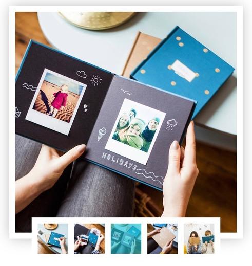 Álbum DIY fotos polaroid