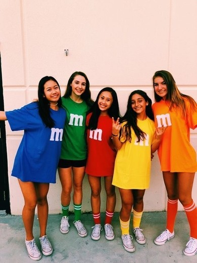 Disfraz M&M's