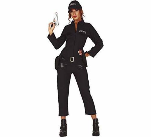 Guirca Disfraz de Policía Local para Mujer