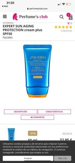 Shiseido crema cuerpo