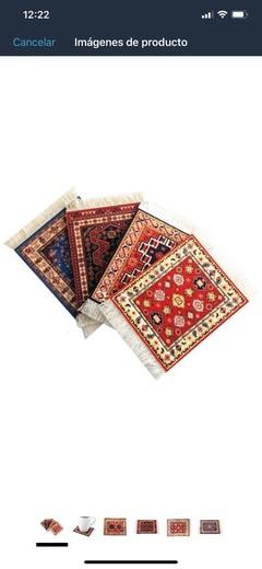 Posavasos alfombra