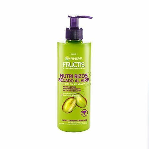 Garnier Fructis Nutri Rizos Secado al Aire Crema Sin Aclarado para Pelo