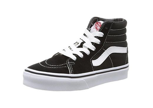 Vans K Sk8-Hi - Zapatillas Altas Infantiles, Color Negro