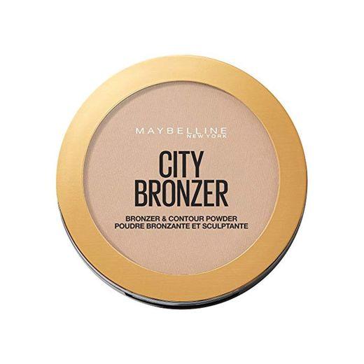 Maybelline Polvos Bronceadores Mate City Bronze 250 Warm Medium Tono Pieles Medias