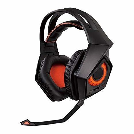 ASUS ROG Strix Wireless - Auriculares Gaming con Sonido Envolvente 7.1