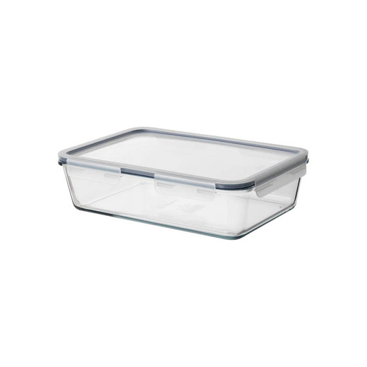 Bote cristal con tapa Ikea