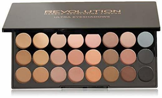 Makeup Revolution Ultra Eyeshadow Palette Flawless Matte Paleta 32 matowych cieni do