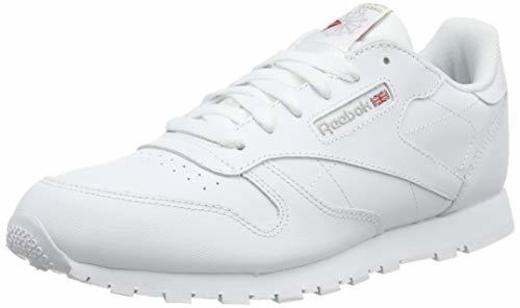 Reebok Classic Leather, Zapatillas de Running Niños, Blanco