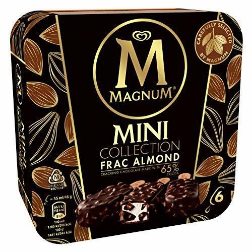 Magnum Collection Mini Frac Almond 65% Cacao 6 x 55 ml
