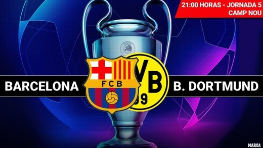 Barça vs dortmund
