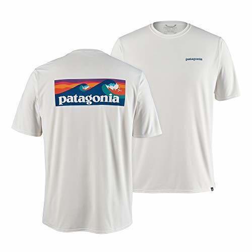 Patagonia M's Cap Cool Daily Graphic Shirt Camiseta, Hombre, Boardshort Logo