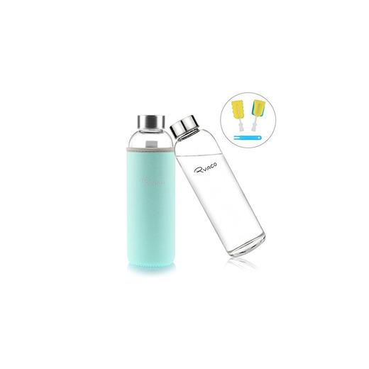 Ryaco Botella de Agua Cristal 550ml