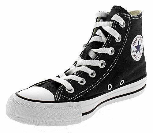 Converse Chuck Taylor All Star Hi, Zapatillas Altas Unisex adulto, Negro