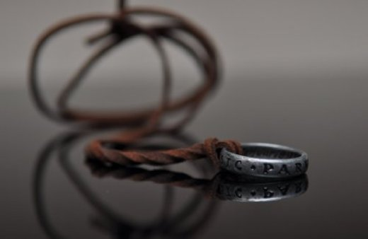Uncharted 3 Nathan Drake's Ring with Necklace Strap from Collector's Edition