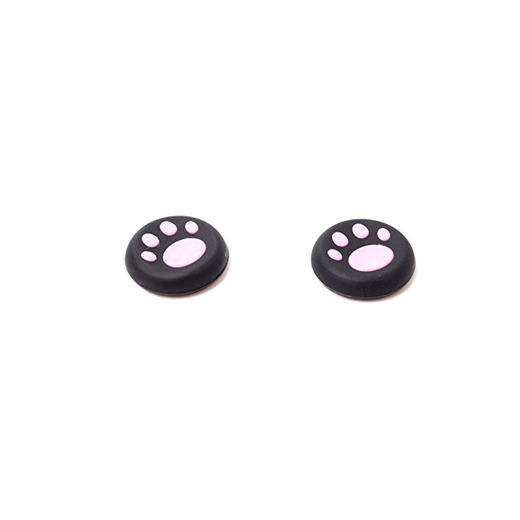 TaylorRoco 1 pair Silicone Cat Paw Joystick The Key Protective Cap Cat