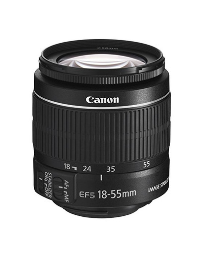 Canon EF-S 18-55mm f/3.5-5.6 IS II - Objetivo para Canon