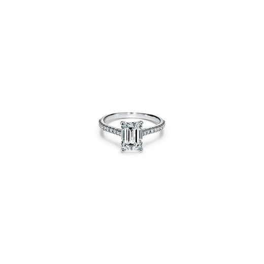 Tiffany Novo® Emerald-cut Engagement Ring