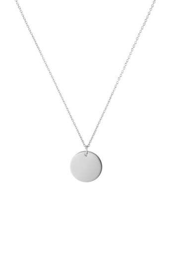 Coin Necklace Silver | PAUL VALENTINE