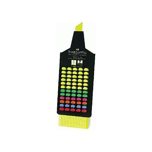 Faber Castell Textliner - Expositor de 60 marcadores fluorescentes