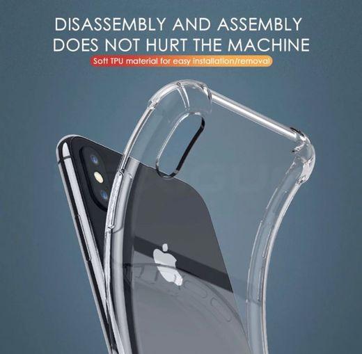 Funda transparente silicona