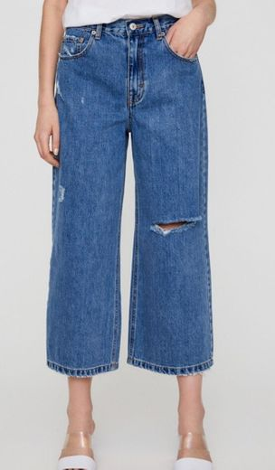 Jeans rotos pull and bear