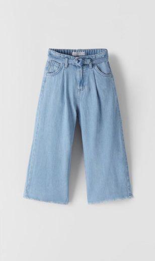 Pantalones palazzo zara kids