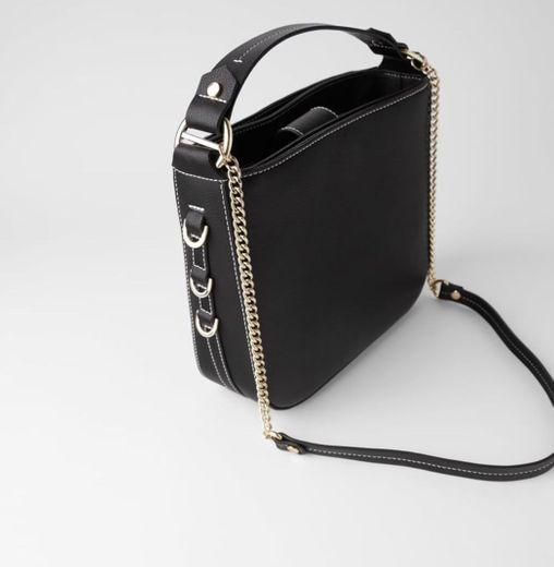 Bolso negro Zara