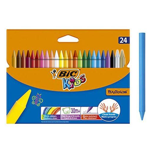 Niños Plastidecor Crayons Color Dureza larga duración afilable Vivid Surtido Ref