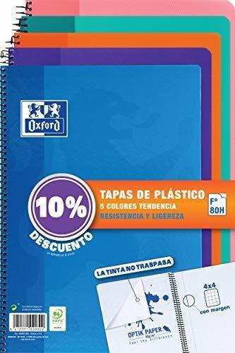 Oxford - Pack de 5 cuadernos