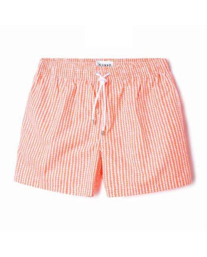 Orange cones swimsut