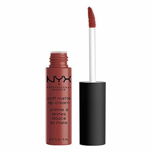 NYX Professional Makeup Pintalabios Soft Matte Lip Cream, Acabado cremoso mate, Color