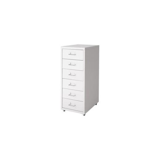 Ikea Helmer cajón Element sobre Ruedas; en Color Blanco