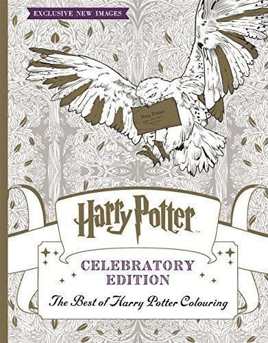 Best of harry potter colouring book