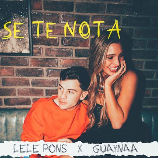 Se Te Nota (with Guaynaa)