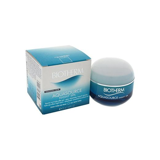 Biotherm Aquasource Night Spa Tratamiento Facial