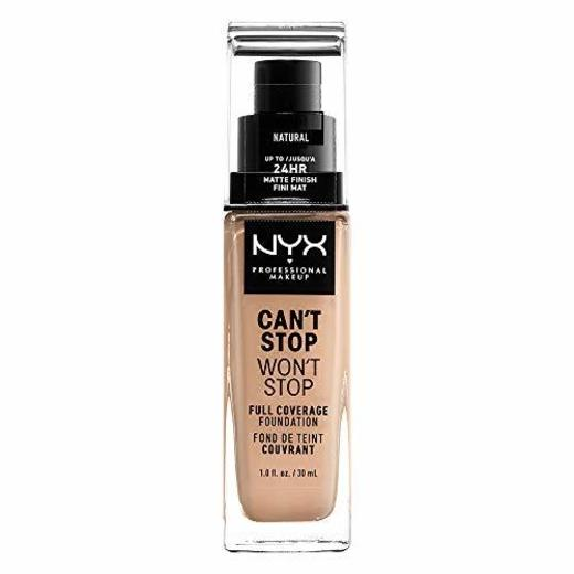 NYX Professional Makeup Base de maquillaje Can't Stop Won't Stop Full Coverage