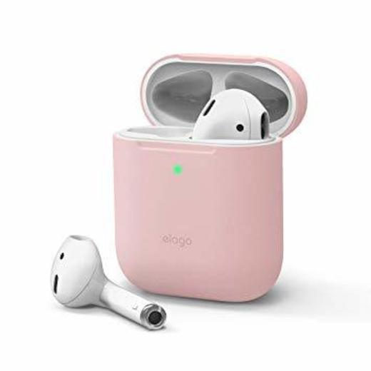elago Funda Silicona Compatible con Apple AirPods 1 & 2