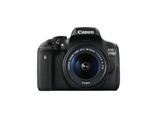 Canon EOS 750D - Cámara réflex Digital de 24.2 MP